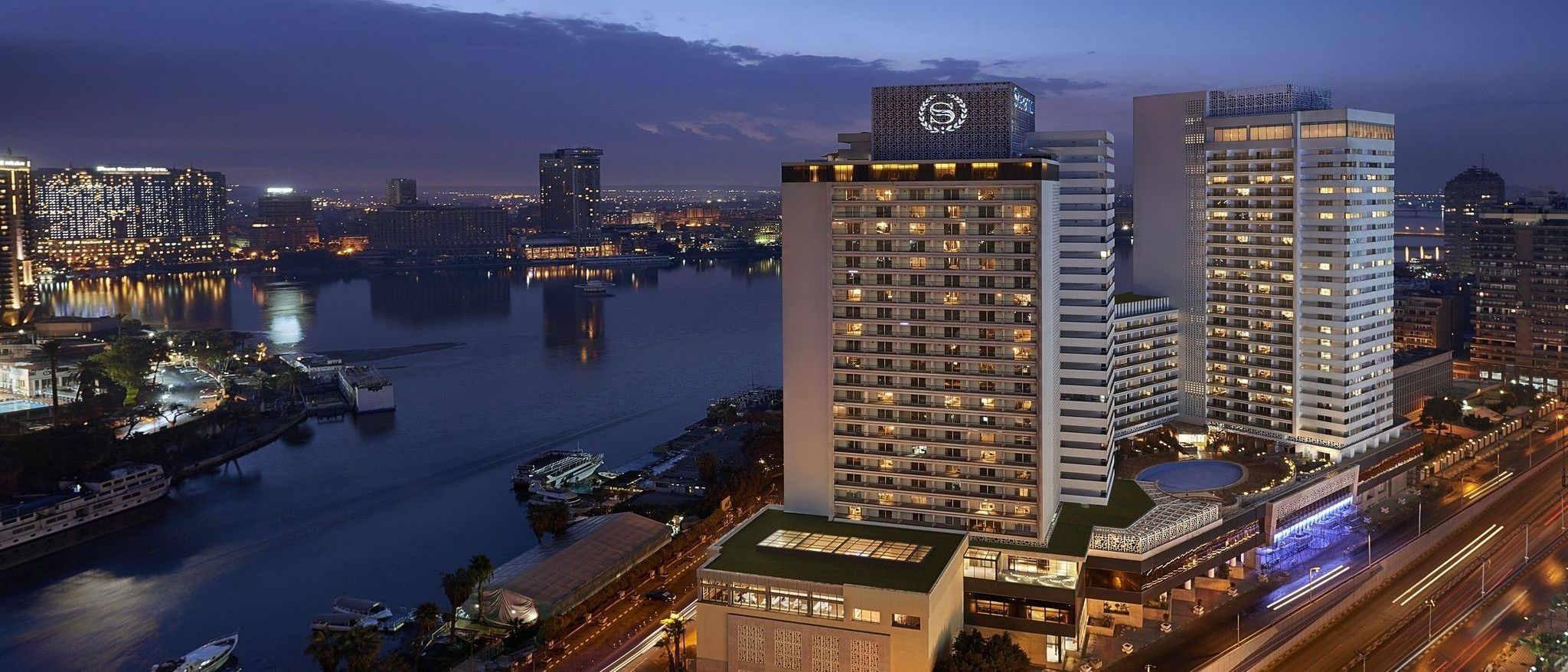 Welcome to the Sheraton Cairo Hotel