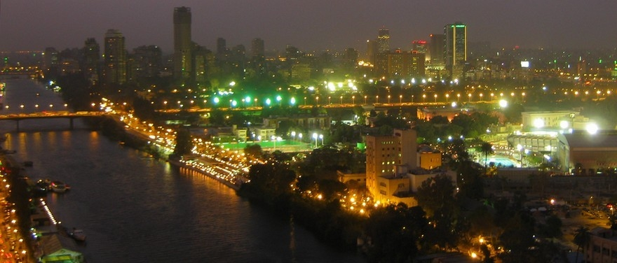 A favourite view from Sheraton Cairo Hotel, Towers & Casino